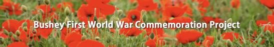 Bushey WW1 Project
