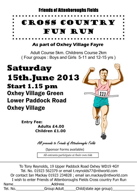 FOAF Fun Run 2013