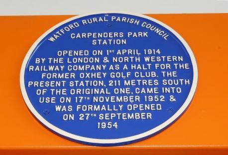 Carpenders Park Centenary