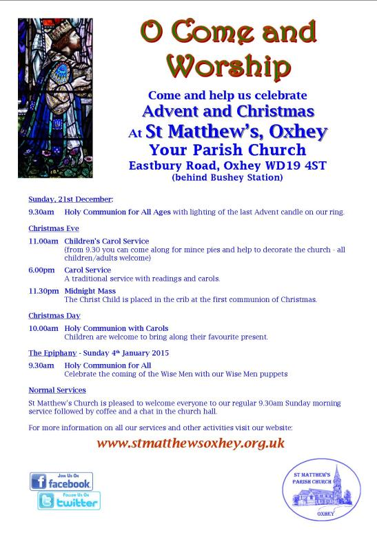 St Matthews Christmas 2014