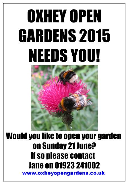 Oxhey Open Gardens 2015
