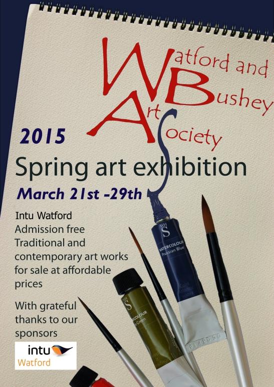Spring exhib flyer 2015