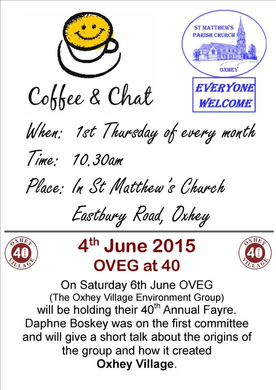 Coffee morning OVEG ad