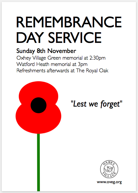 Remembrance 2015