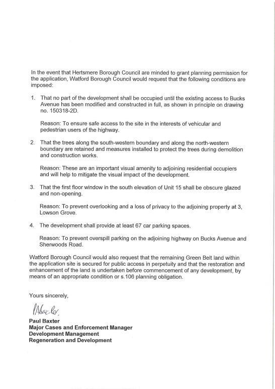 Bucks Meadow WBC Letter to Hertsmere02