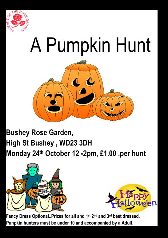 Bushey Rose Garden Pumpkin hunt poster-2.png