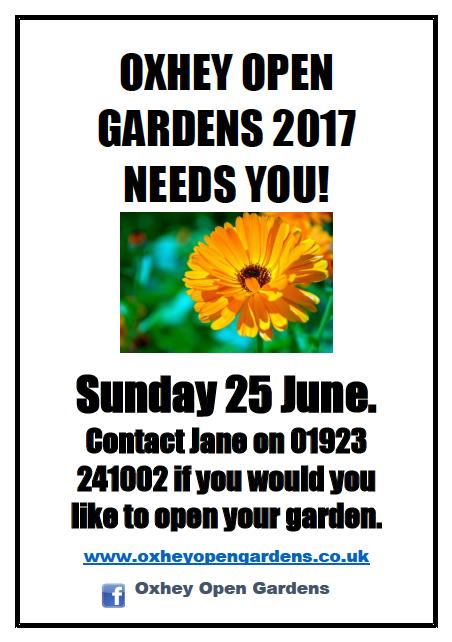 Open Gardens 2017