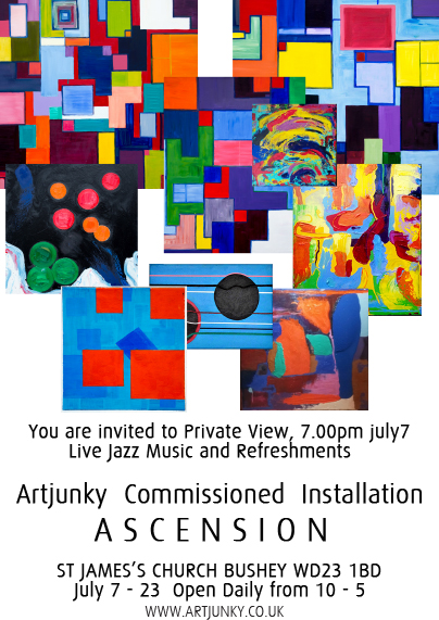 Artjunky revised flyer invite